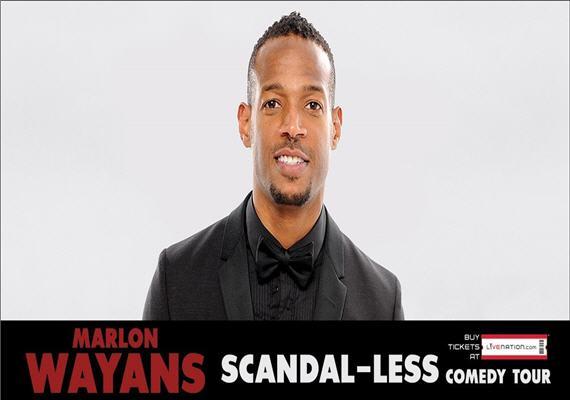 Marlon Wayans – Scandal-less Comedy Tour – Charlotte