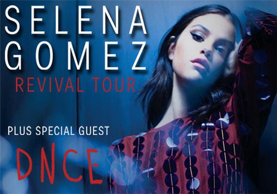 Selena Gomez – Revival Tour – Charlotte – June 7th