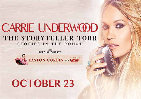Carrie Underwood: The Storyteller Tour – Charlotte
