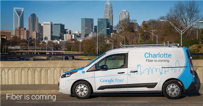 Google Fiber Rolling Out To Second Charlotte Neighborhood