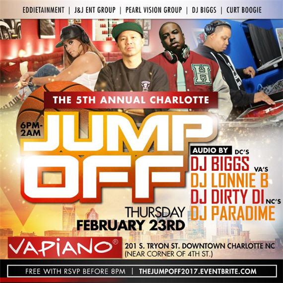 5th Annual Charlotte Jump Off 2017