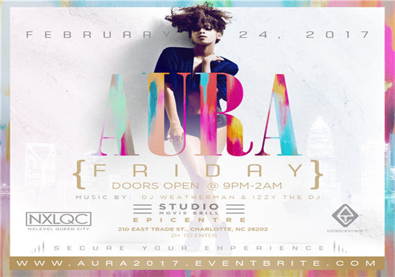 Aura – Friday, Feb 24th – Studio Movie Grill