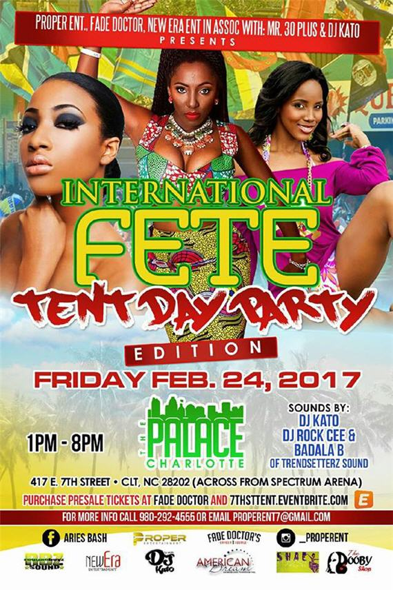 International Fete Tent Day Party