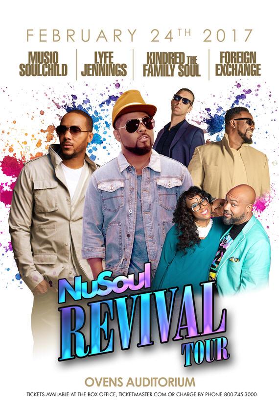 Nu Soul Revival Tour 2017 Charlotte