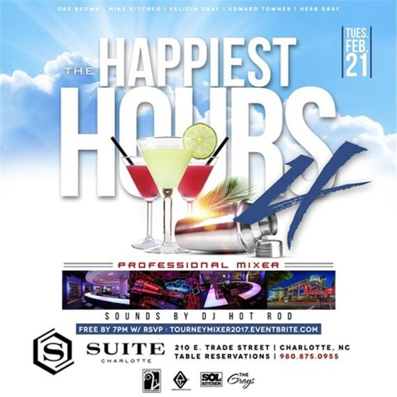 The Happiest Hours 4: Professional Mixer @ Suite