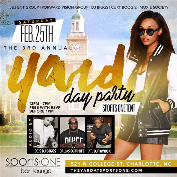 The Yard Day Party at Sports One Tent 2017