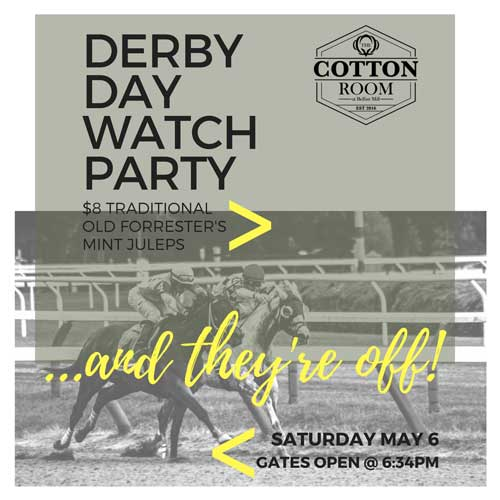 Derby Day at The Cotton Room at Belfast Mill