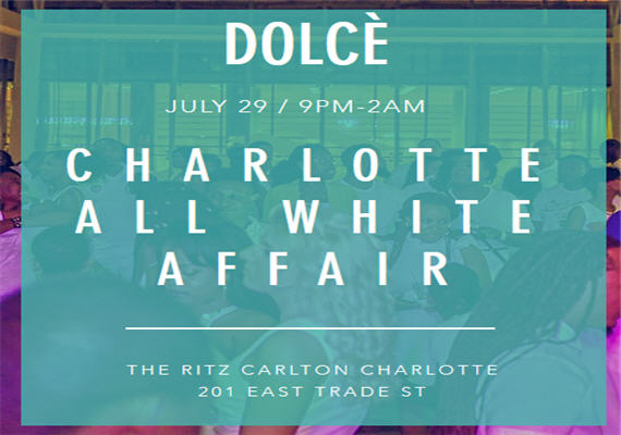 Charlotte All White @ The Ritz