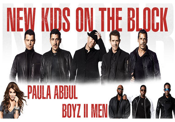 The Total Package Tour: NKOTB with Paula Abdul & Boyz II Men