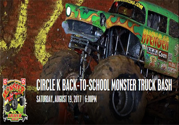 Circle K Back-to-School Monster Truck Bash