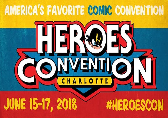 2018 HeroesCon – June 15th – 17th