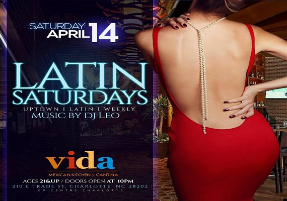 The New Latin Saturdays – Coco Tropical Saturdays Continues