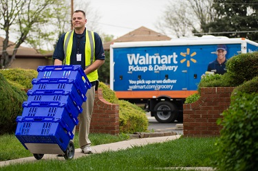 Walmart's Home Grocery Delivery Service Launches in Charlotte