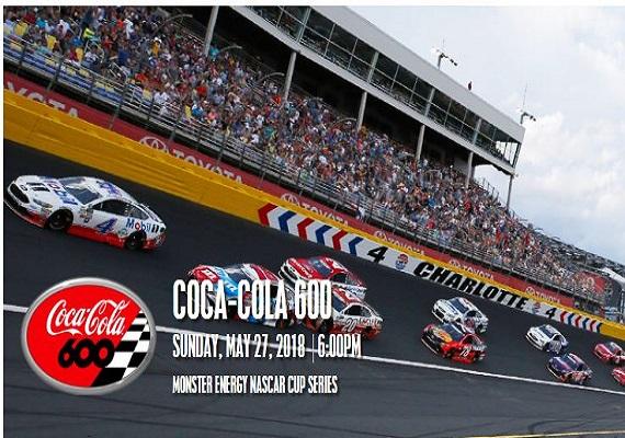 2018 Coca-Cola 600 – Charlotte Motor Speedway