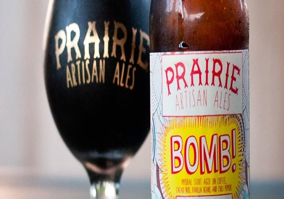 Deconstructed Prairie Bomb! & Amelie's Chocolate Pairing