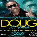 Doug E Fresh Performing Live - Memorial Weekend 570x400