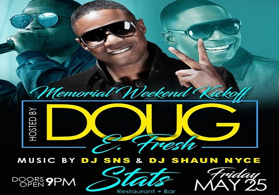 Doug E Fresh Performing Live Memorial Weekend In Charlotte