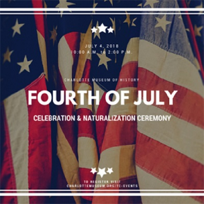 Fourth of July Celebration and Naturalization Ceremony