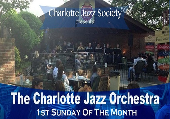 The Charlotte Jazz Orchestra – 1st Sunday of the Month