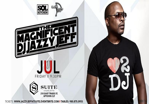 DJ Jazzy Jeff LIVE! Friday, July 27th