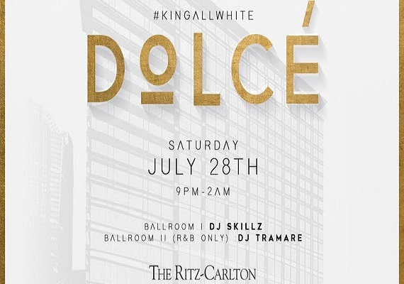 Dolcè – Charlotte's All White Attire Affair @ The Ritz-Carlton