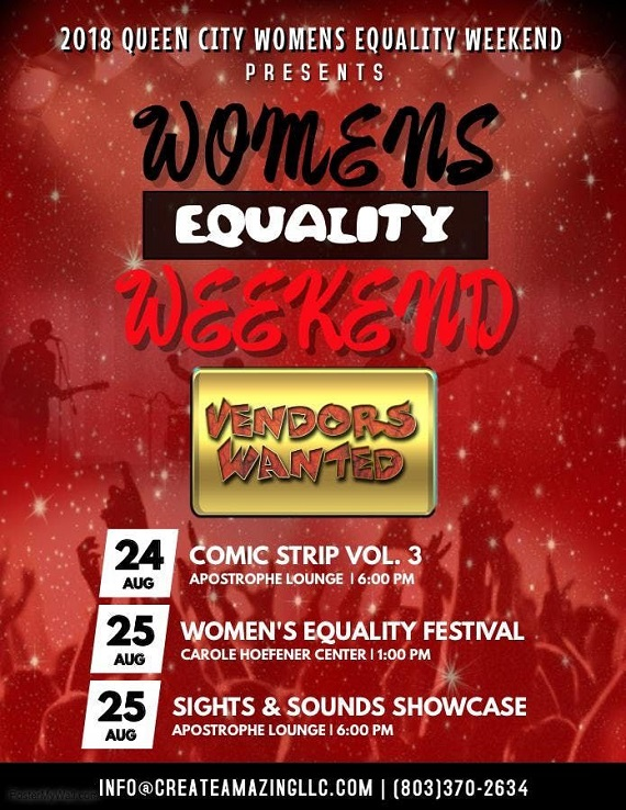 2018 Queen City Womens Equality Weekend