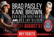 Brad Paisley and Kane Brown Live in Concert