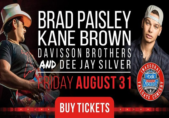 Brad Paisley & Kane Brown | Live in Concert