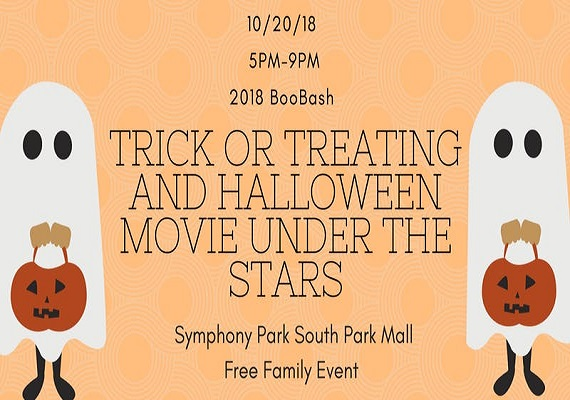 2018 BooBash! Free Trick or Treating and Movie Under the Stars at South Park