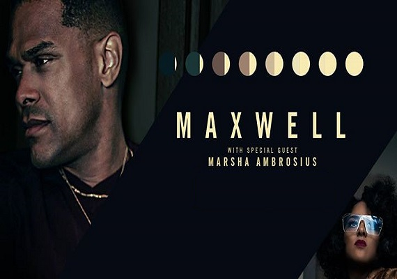 Maxwell 50 Intimate Nights Live Tour w/ Special Guest Marsha Ambrosius