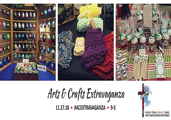 Arts & Crafts Extravaganza @ Matthews UMC
