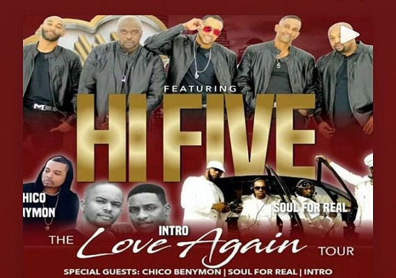 The Love Again Tour featuring Hi-Five and Soul for Real