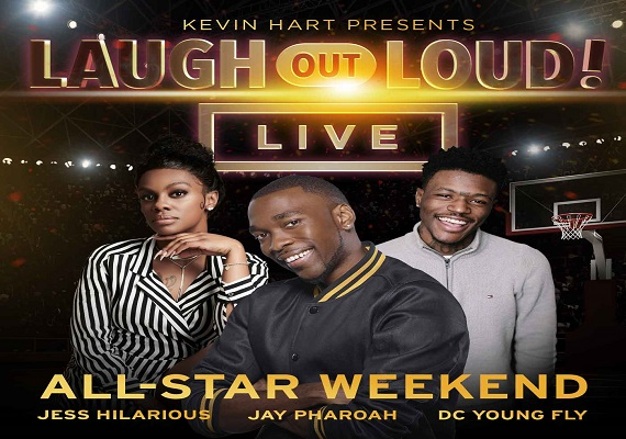Kevin Hart Presents Laugh Out Loud Live All Star Weekend 570x400