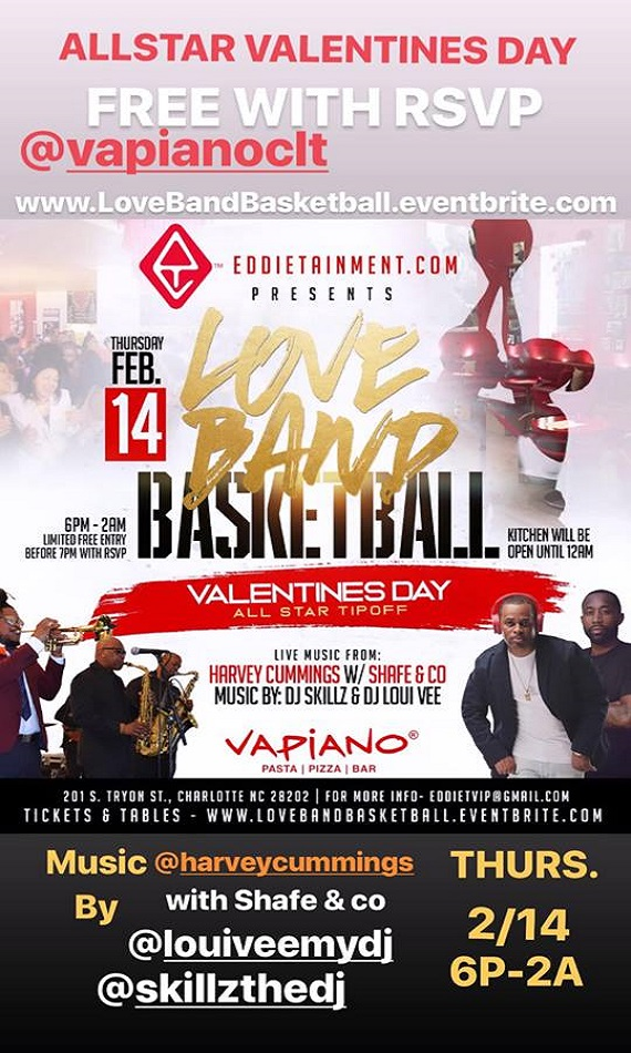 Eddietainment Presents Love Band Basketball
