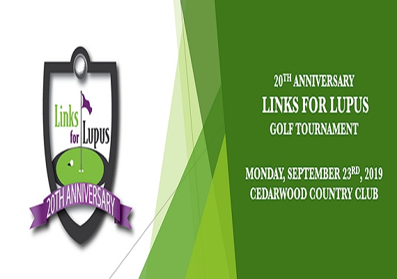 20th Anniversary Links for Lupus Golf Tournament
