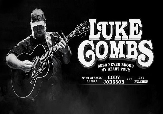 Luke Combs Beer Never Broke My Heart Tour