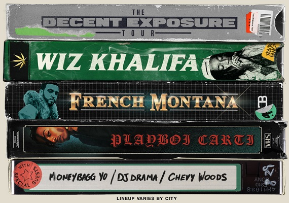 Wiz Khalifa: The Decent Exposure Tour – July 10th