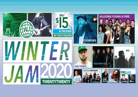 Winter Jam 2020 – March 21st
