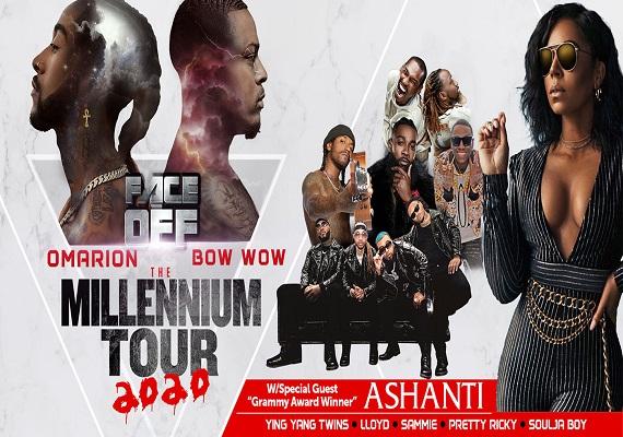 the millennium tour 2020 charlotte lineup
