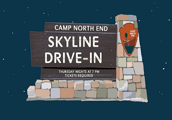 Skyline Drive-in at Camp North End