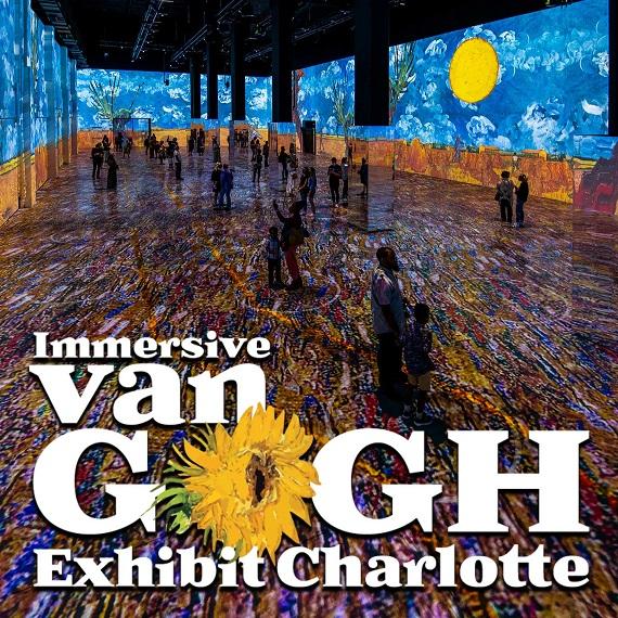 Immersive Van Gogh Exhibit Charlotte