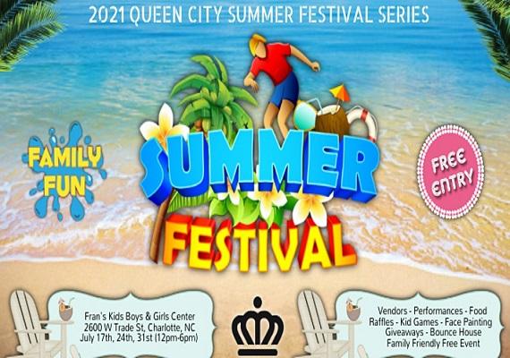 The 2021 Queen City Summer Festival Series
