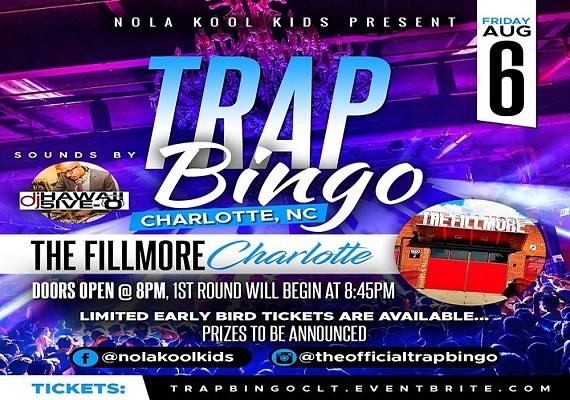 Trap Bingo Comes To Charlotte